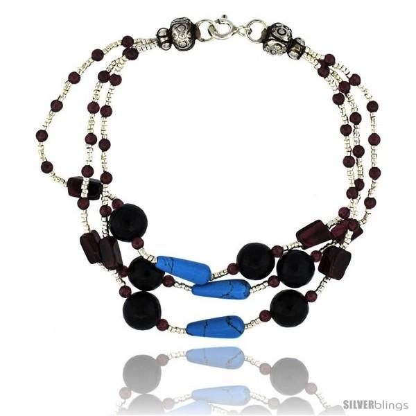 https://www.silverblings.com/17080-thickbox_default/7-in-sterling-silver-3-strand-bead-bracelet-w-garnet-turquoise-black-onyx-amethyst-stones.jpg