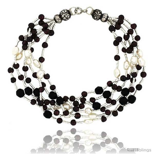 https://www.silverblings.com/17086-thickbox_default/7-1-2-in-sterling-silver-6-strand-bead-bracelet-w-freshwater-pearls-black-onyx-stones-garnet-beads.jpg