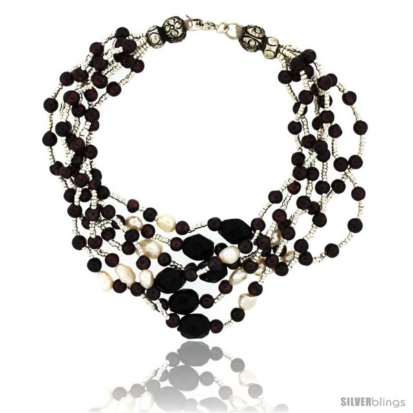 https://www.silverblings.com/17088-thickbox_default/8-1-2-in-sterling-silver-6-strand-bead-bracelet-w-freshwater-pearls-black-onyx-stones-garnet-beads.jpg