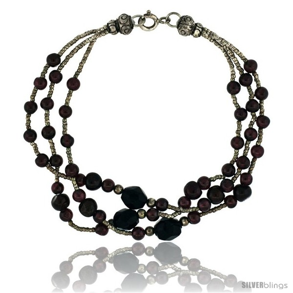 https://www.silverblings.com/17092-thickbox_default/7-1-2-in-sterling-silver-3-strand-bead-bracelet-w-garnet-beads-black-onyx-stones.jpg