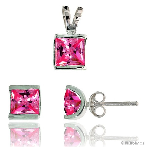 https://www.silverblings.com/17148-thickbox_default/sterling-silver-square-shaped-stud-earrings-7-mm-pendant-12mm-tall-set-w-princess-cut-pink-tourmaline-colored-cz-stones.jpg