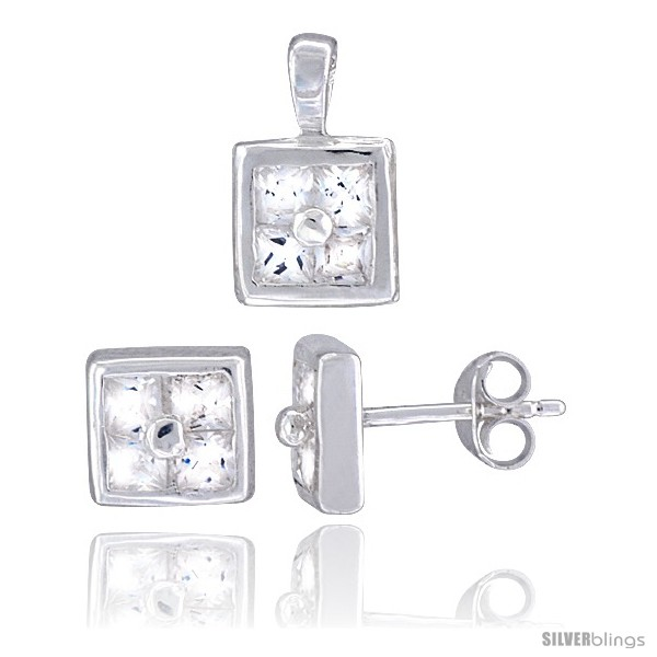https://www.silverblings.com/17198-thickbox_default/sterling-silver-square-shaped-stud-earrings-6-5-mm-pendant-11mm-tall-set-w-princess-cut-cz-stones.jpg