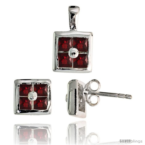 https://www.silverblings.com/17204-thickbox_default/sterling-silver-square-shaped-stud-earrings-6-5-mm-pendant-11mm-tall-set-w-princess-cut-pink-ruby-colored-cz-stones.jpg