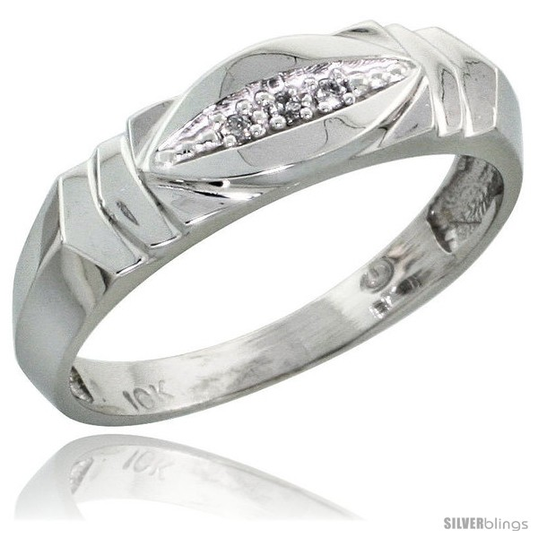 https://www.silverblings.com/17303-thickbox_default/10k-white-gold-ladies-diamond-wedding-band-ring-0-02-cttw-brilliant-cut-3-16-in-wide-style-10w021lb.jpg
