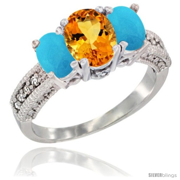 https://www.silverblings.com/17325-thickbox_default/10k-white-gold-ladies-oval-natural-citrine-3-stone-ring-turquoise-sides-diamond-accent.jpg