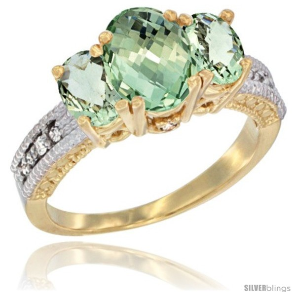 https://www.silverblings.com/17361-thickbox_default/14k-yellow-gold-ladies-oval-natural-green-amethyst-3-stone-ring-diamond-accent.jpg