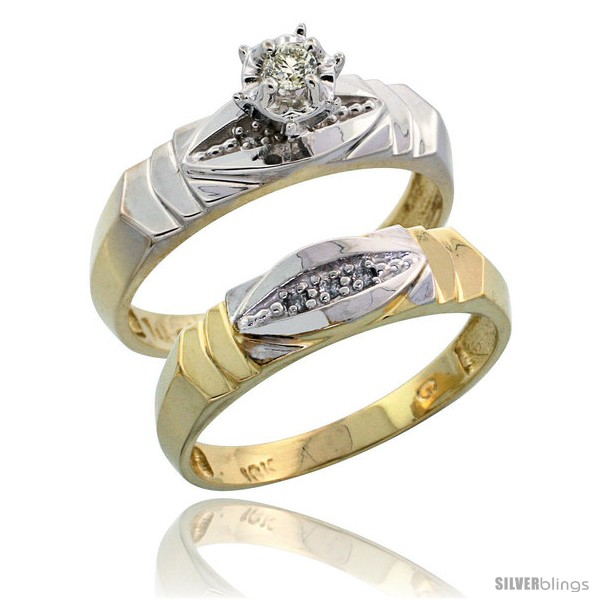 https://www.silverblings.com/17383-thickbox_default/10k-yellow-gold-ladies-2-piece-diamond-engagement-wedding-ring-set-3-16-in-wide-style-10y121e2.jpg