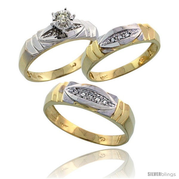 https://www.silverblings.com/17413-thickbox_default/10k-yellow-gold-diamond-trio-wedding-ring-set-his-6mm-hers-5mm-style-10y121w3.jpg