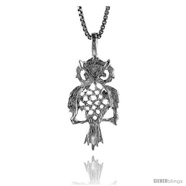https://www.silverblings.com/17465-thickbox_default/sterling-silver-owl-pendant-3-4-in.jpg