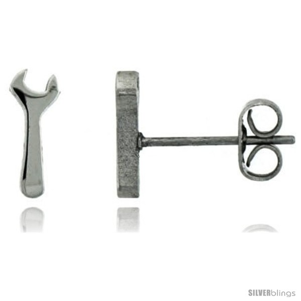 https://www.silverblings.com/1760-thickbox_default/small-stainless-steel-wrench-stud-earrings-1-2-in-high.jpg
