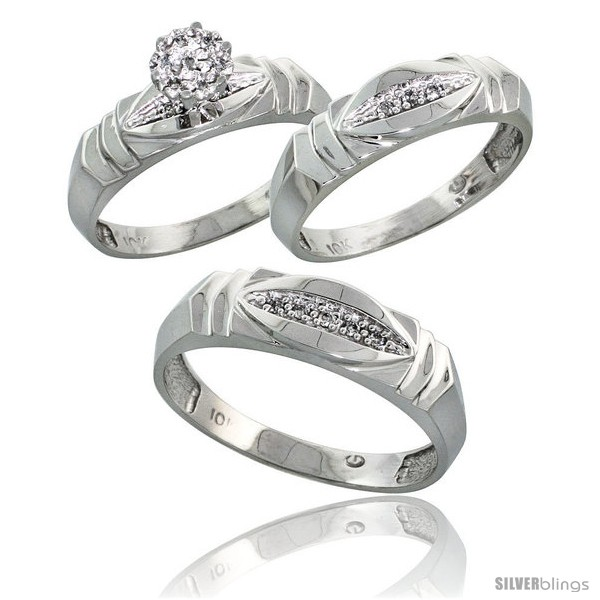 https://www.silverblings.com/17616-thickbox_default/10k-white-gold-trio-engagement-wedding-rings-set-for-him-her-3-piece-6-mm-5-mm-wide-0-09-cttw-brilliant-cut.jpg