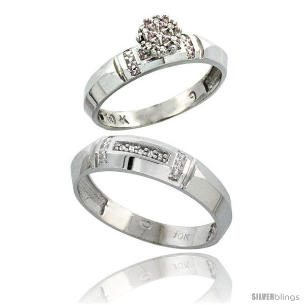 https://www.silverblings.com/17624-thickbox_default/10k-white-gold-diamond-engagement-rings-2-piece-set-for-men-and-women-0-08-cttw-brilliant-cut-4mm-5-5mm-wide.jpg