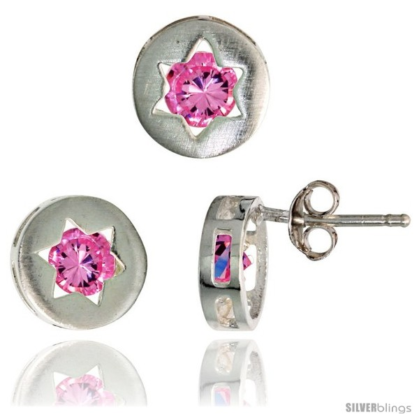 https://www.silverblings.com/17671-thickbox_default/sterling-silver-jewish-star-of-david-stud-earrings-9-mm-pendant-slide-9-mm-set-w-brilliant-cut-pink-tourmaline-colored.jpg