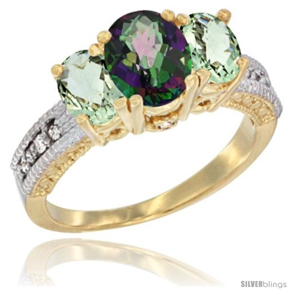 https://www.silverblings.com/17977-thickbox_default/14k-yellow-gold-ladies-oval-natural-mystic-topaz-3-stone-ring-green-amethyst-sides-diamond-accent.jpg