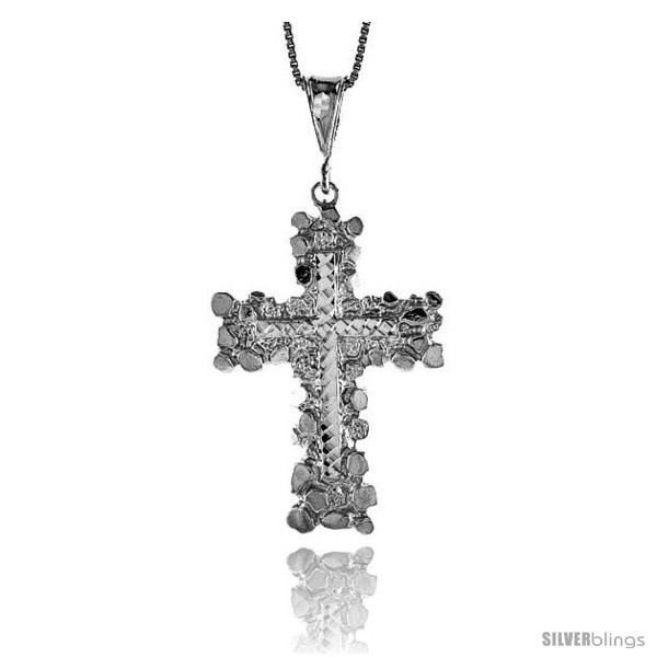 https://www.silverblings.com/18140-thickbox_default/sterling-silver-large-nugget-cross-pendant-1-3-4-in.jpg