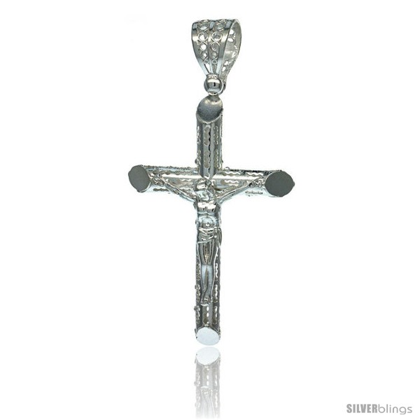 https://www.silverblings.com/18255-thickbox_default/sterling-silver-crucifix-pendant-w-textured-tubular-cross-1-3-4-in-tall.jpg