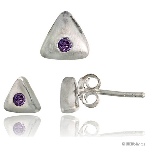 https://www.silverblings.com/18303-thickbox_default/sterling-silver-matte-finish-triangular-earrings-6mm-tall-pendant-slide-7mm-tall-set-w-brilliant-cut-amethyst-colored.jpg