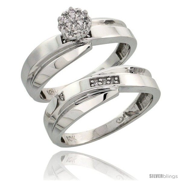 https://www.silverblings.com/18425-thickbox_default/10k-white-gold-diamond-engagement-rings-set-2-piece-0-07-cttw-brilliant-cut-1-4-in-wide.jpg