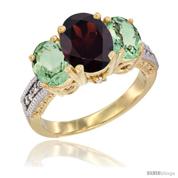 https://www.silverblings.com/18475-thickbox_default/14k-yellow-gold-ladies-3-stone-oval-natural-garnet-ring-green-amethyst-sides-diamond-accent.jpg