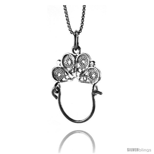 https://www.silverblings.com/18662-thickbox_default/sterling-silver-charm-holder-pendant-1-1-16-in-tall-style-4p453.jpg