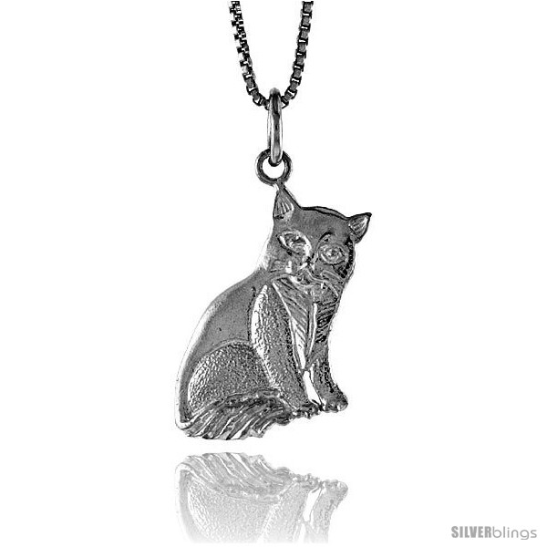 https://www.silverblings.com/18748-thickbox_default/sterling-silver-cat-pendant-3-4-in-style-4p492.jpg