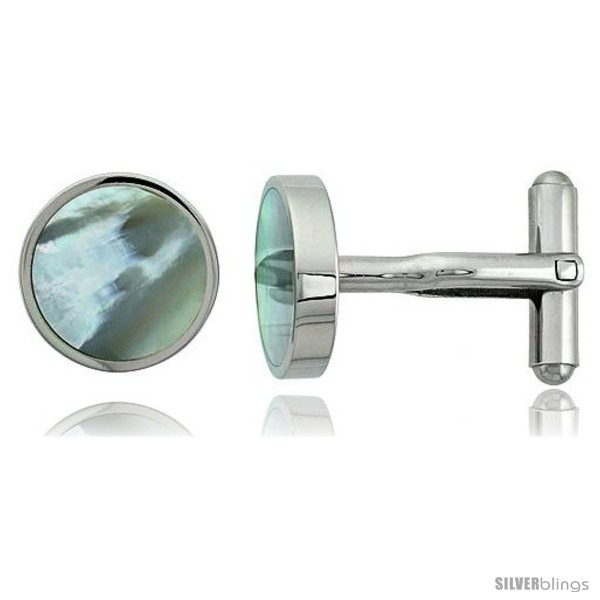 https://www.silverblings.com/1876-thickbox_default/stainless-steel-round-shape-cufflinks-w-natural-mother-of-pearl-inlay-5-8-in.jpg