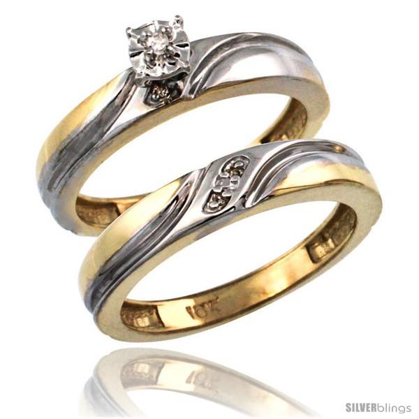 https://www.silverblings.com/18798-thickbox_default/10k-gold-2-pc-diamond-engagement-ring-set-w-0-043-carat-brilliant-cut-diamonds-5-32-in-4mm-wide.jpg