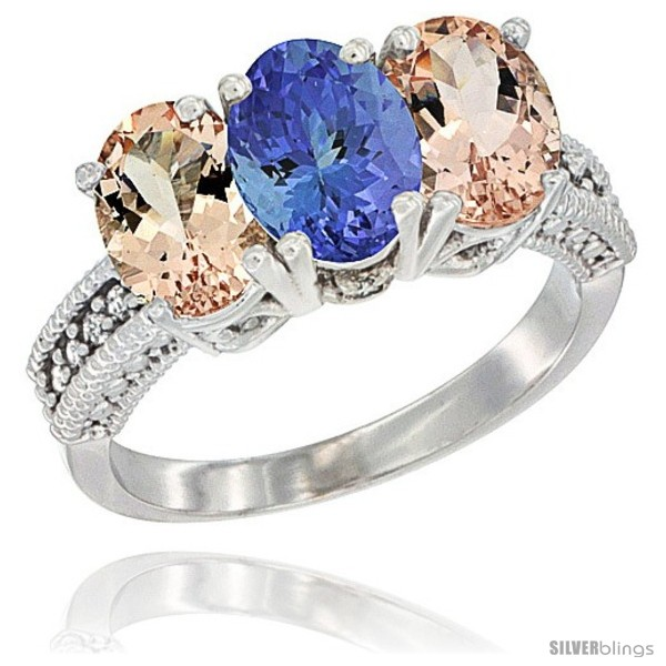 https://www.silverblings.com/1946-thickbox_default/10k-white-gold-natural-tanzanite-morganite-sides-ring-3-stone-oval-7x5-mm-diamond-accent.jpg