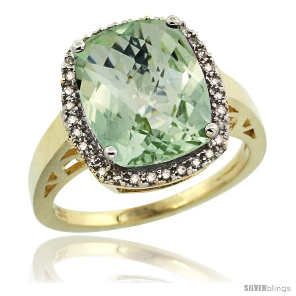 https://www.silverblings.com/1972-thickbox_default/10k-yellow-gold-diamond-green-amethyst-ring-5-17-ct-checkerboard-cut-cushion-12x10-mm-1-2-in-wide.jpg