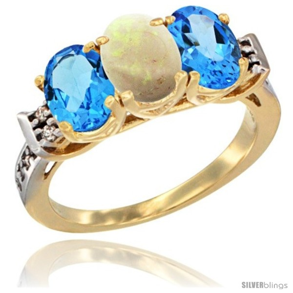 https://www.silverblings.com/20316-thickbox_default/10k-yellow-gold-natural-opal-swiss-blue-topaz-sides-ring-3-stone-oval-7x5-mm-diamond-accent.jpg