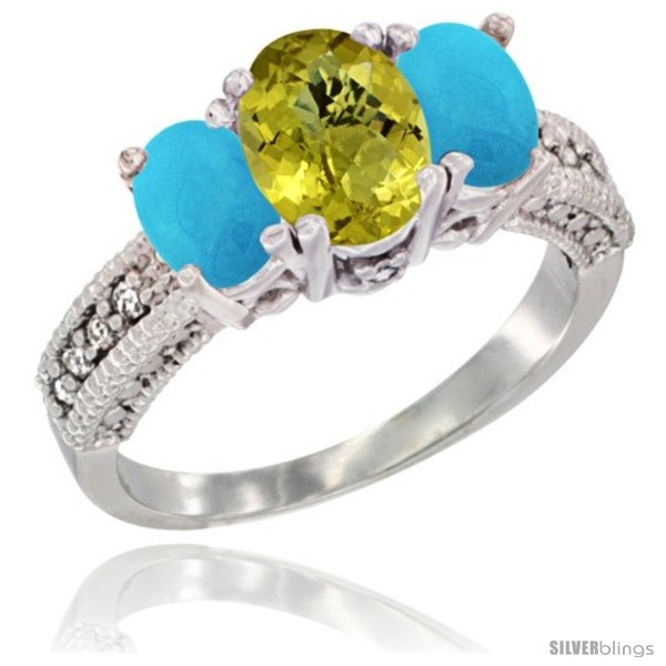 https://www.silverblings.com/20755-thickbox_default/10k-white-gold-ladies-oval-natural-lemon-quartz-3-stone-ring-turquoise-sides-diamond-accent.jpg