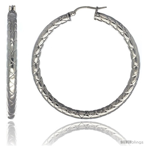 https://www.silverblings.com/2088-thickbox_default/surgical-steel-2-inch-hoop-earrings-zigzag-embossed-pattern-4-mm-tube-feather-weigh.jpg