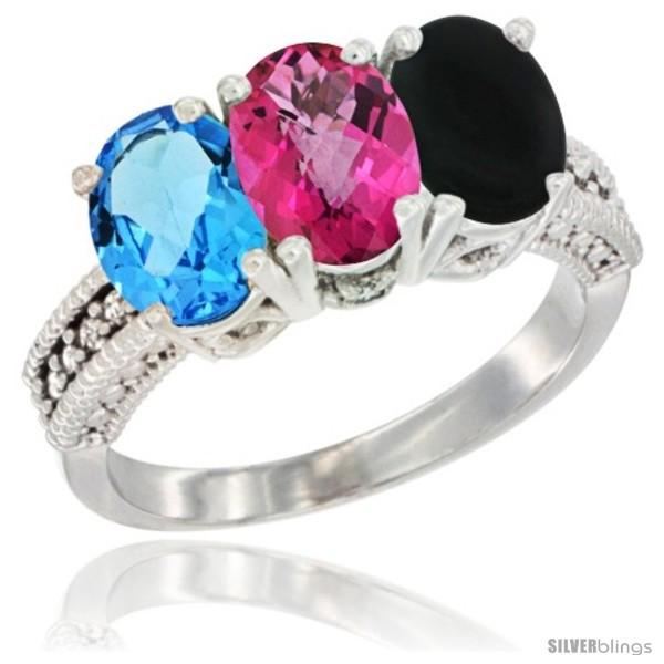 https://www.silverblings.com/20970-thickbox_default/14k-white-gold-natural-swiss-blue-topaz-pink-topaz-black-onyx-ring-3-stone-7x5-mm-oval-diamond-accent.jpg