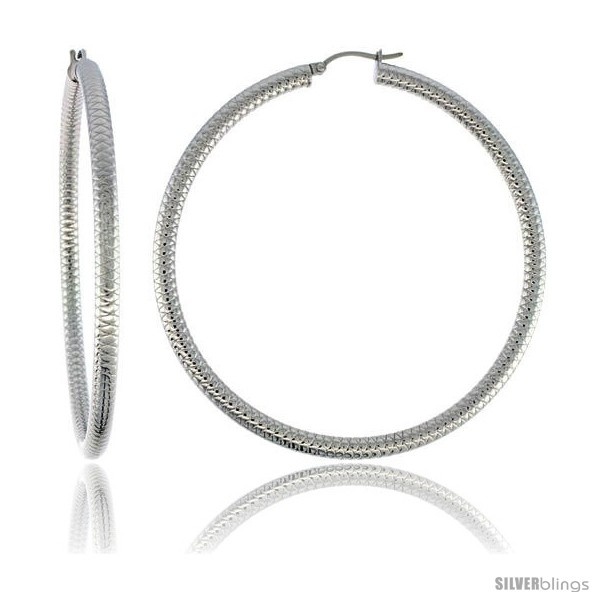 https://www.silverblings.com/2100-thickbox_default/surgical-steel-tube-hoop-earrings-2-3-4-in-round-4-mm-wide-tight-zigzag-pattern-feather-weight.jpg