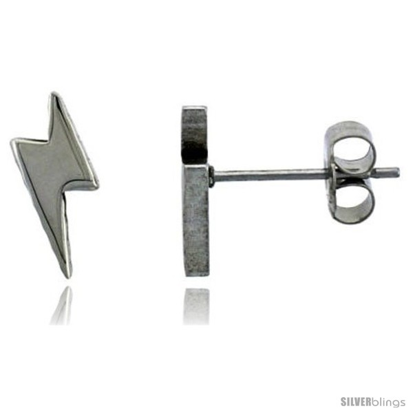 https://www.silverblings.com/2118-thickbox_default/small-stainless-steel-lightning-bolt-stud-earrings-3-8-in-high.jpg