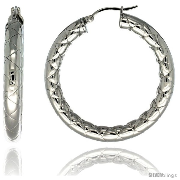 https://www.silverblings.com/2134-thickbox_default/surgical-steel-1-1-2-in-hoop-earrings-zigzag-embossed-pattern-5-mm-fat-tube-feather-weigh.jpg