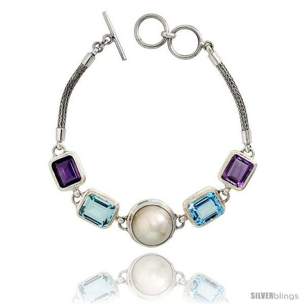 https://www.silverblings.com/21414-thickbox_default/sterling-silver-bali-style-byzantine-toggle-bracelet-w-pearl-two-12x10mm-emerald-cut-natural-blue-topaz-stones-two-11x9mm.jpg