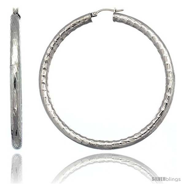 https://www.silverblings.com/2154-thickbox_default/surgical-steel-2-3-4-in-hoop-earrings-bamboo-embossed-pattern-5-mm-fat-tube-feather-weigh.jpg