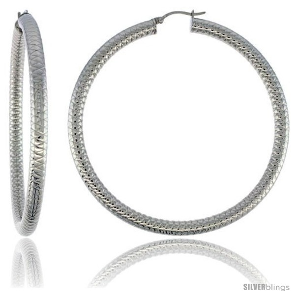 https://www.silverblings.com/2156-thickbox_default/surgical-steel-tube-hoop-earrings-3-in-round-5-mm-thick-tight-zigzag-pattern-feather-weight.jpg