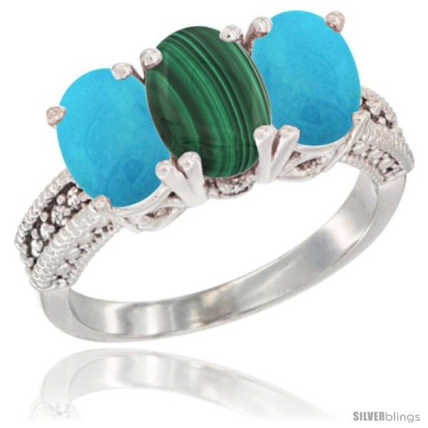 https://www.silverblings.com/21566-thickbox_default/10k-white-gold-natural-malachite-turquoise-ring-3-stone-oval-7x5-mm-diamond-accent.jpg