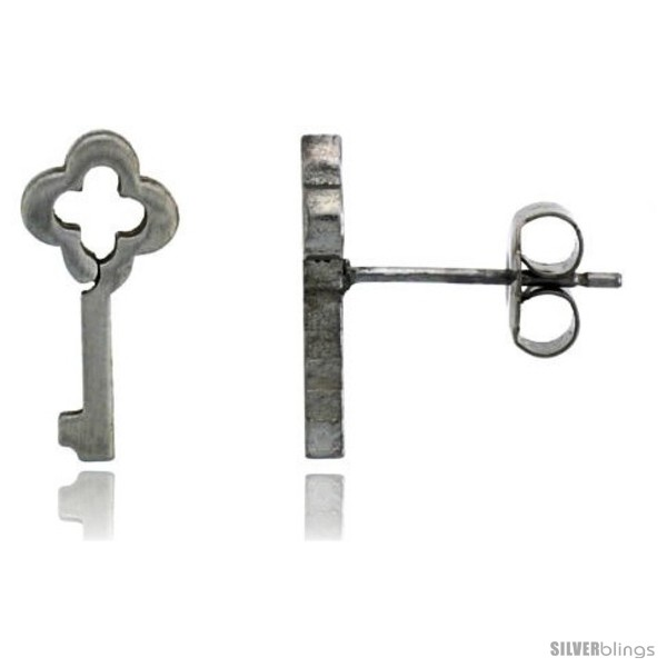 https://www.silverblings.com/2172-thickbox_default/small-stainless-steel-antique-key-stud-earrings-1-2-in-high.jpg