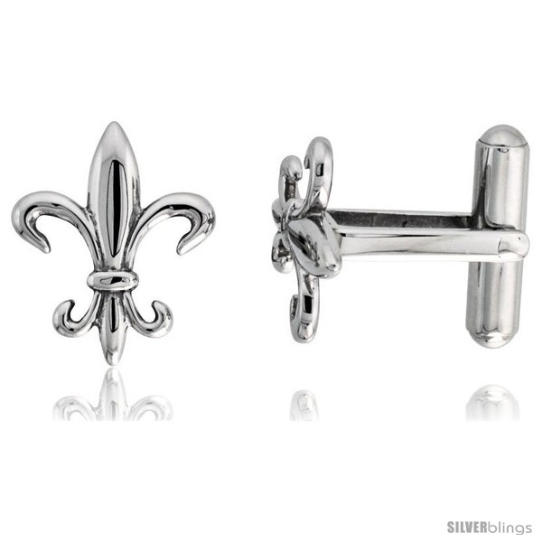 https://www.silverblings.com/2182-thickbox_default/stainless-steel-fleur-de-lis-cufflinks-3-4-x-5-8-in-style-fss12.jpg