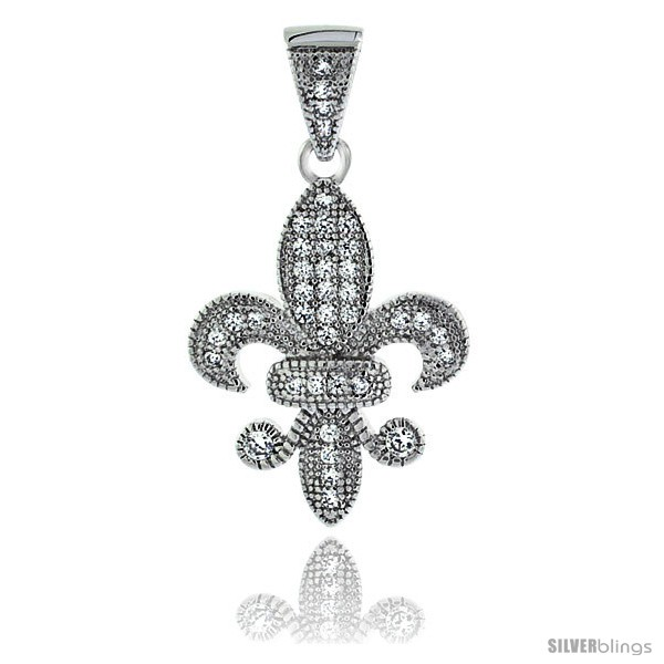 https://www.silverblings.com/22225-thickbox_default/sterling-silver-cubic-zirconia-fleur-de-lis-pendant-micro-pave-7-8-in.jpg