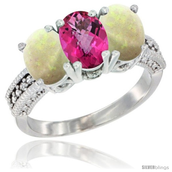 https://www.silverblings.com/22371-thickbox_default/10k-white-gold-natural-pink-topaz-opal-ring-3-stone-oval-7x5-mm-diamond-accent.jpg