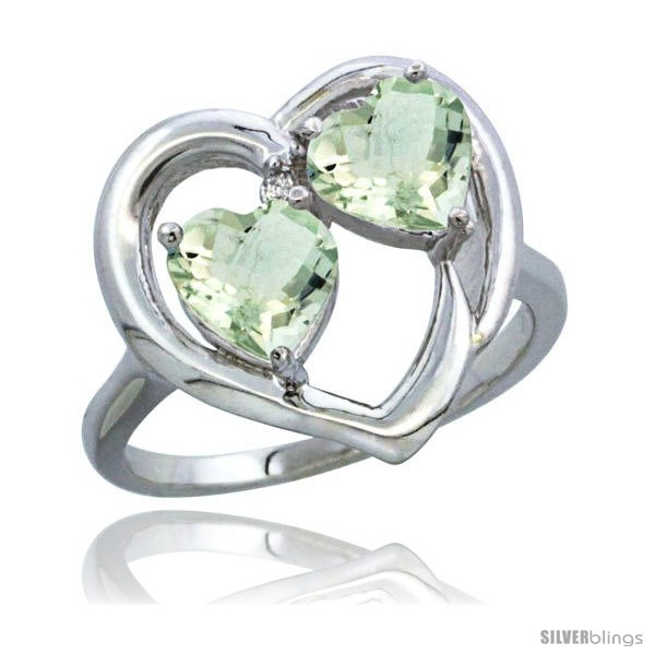 https://www.silverblings.com/2270-thickbox_default/14k-white-gold-2-stone-heart-ring-6mm-natural-green-amethyst-stones-diamond-accent-diamond-accent.jpg