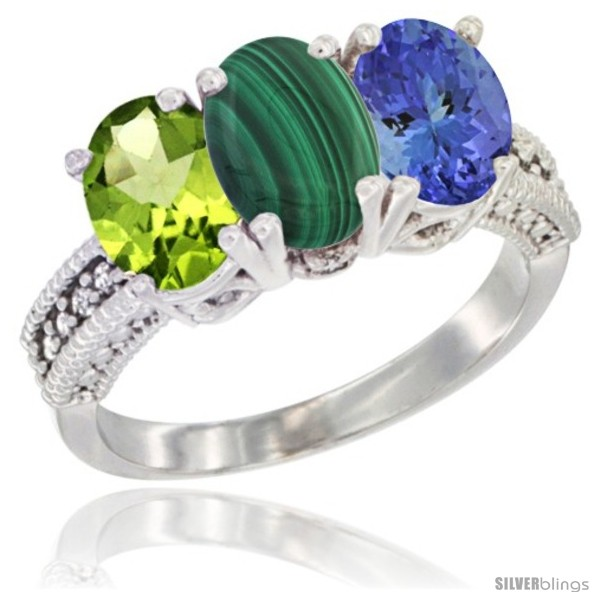 https://www.silverblings.com/22844-thickbox_default/14k-white-gold-natural-peridot-malachite-tanzanite-ring-3-stone-oval-7x5-mm-diamond-accent.jpg