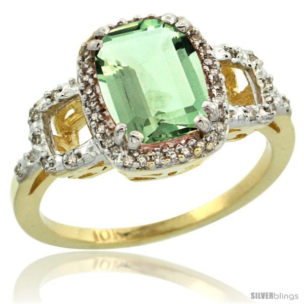 https://www.silverblings.com/2296-thickbox_default/10k-yellow-gold-diamond-green-amethyst-ring-2-ct-checkerboard-cut-cushion-shape-9x7-mm-1-2-in-wide.jpg