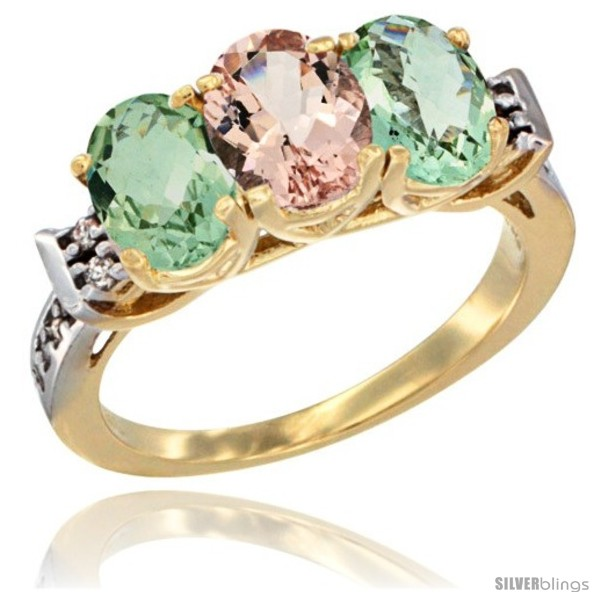 https://www.silverblings.com/2310-thickbox_default/10k-yellow-gold-natural-morganite-green-amethyst-sides-ring-3-stone-oval-7x5-mm-diamond-accent.jpg