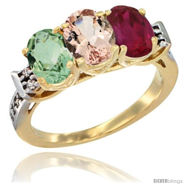 https://www.silverblings.com/2318-thickbox_default/10k-yellow-gold-natural-green-amethyst-morganite-ruby-ring-3-stone-oval-7x5-mm-diamond-accent.jpg