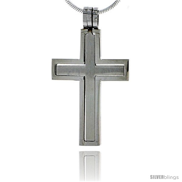 https://www.silverblings.com/2364-thickbox_default/stainless-steel-cross-pendant-2-piece-cut-out-1-1-4-in-tall-w-30-in-chain.jpg